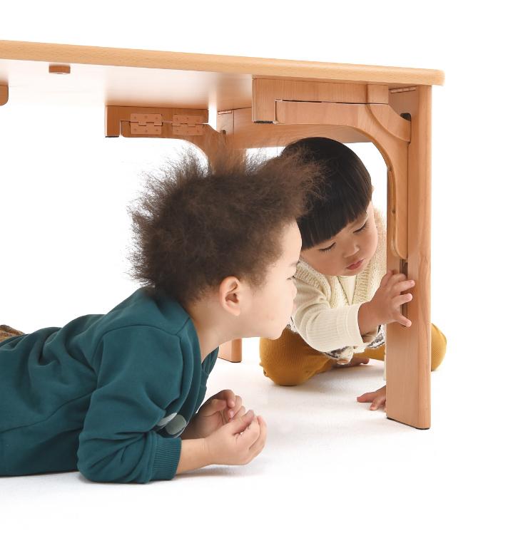 机自らが判断し、動作を制御するロック機構を発明