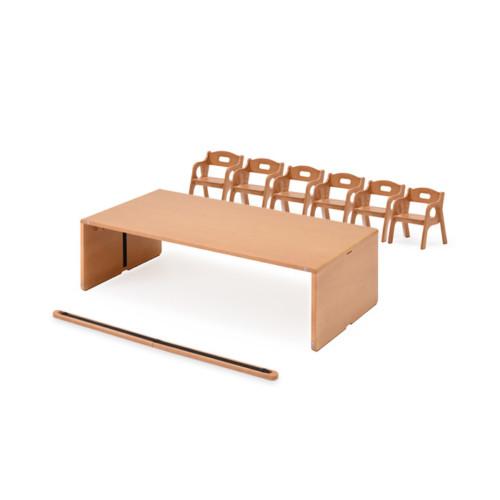 幼児 子ども 机 ANテーブル Bタイプお勧めセット