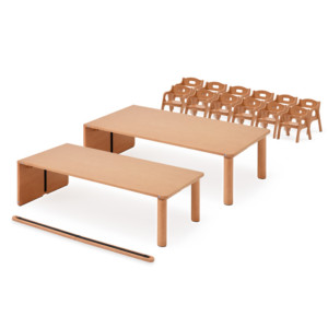 AN table A-typeお勧めセット(0・1歳児)